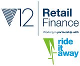V12 Retail Finance working in partnership with Ride it Away